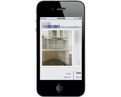 Non Responsive Websites - iPhone 4