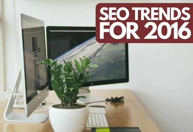 2016 SEO Trends